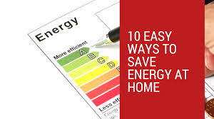 10 Easy Ways to Save on Energy at Home