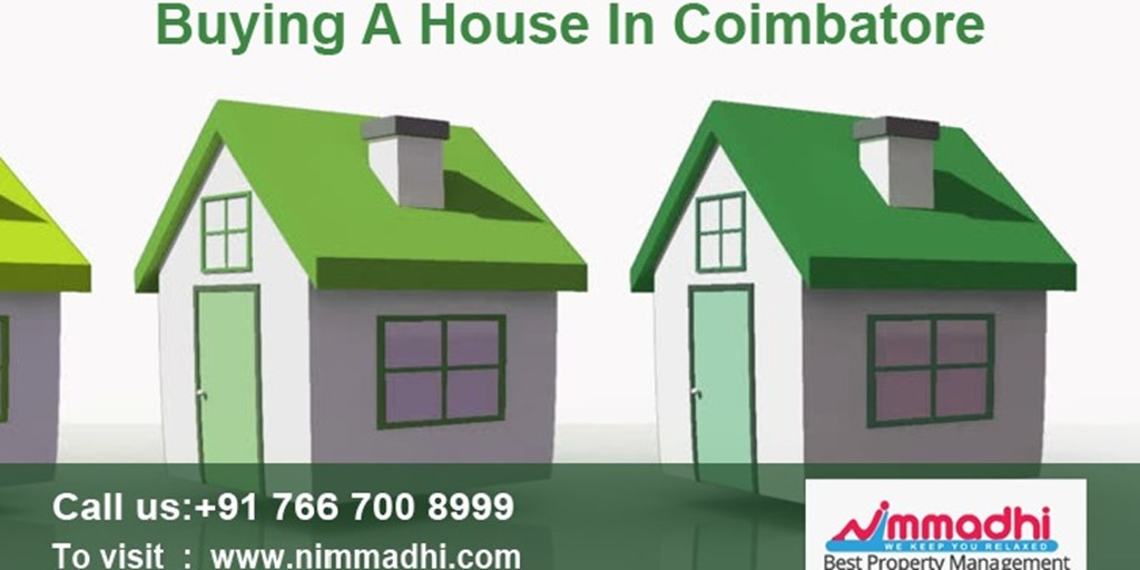 Buy A House In Coimbatore